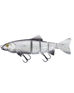 Fox Rage Replicant Realistic Trout Jointed Shallow 18cm 77g UV Silver Bleak