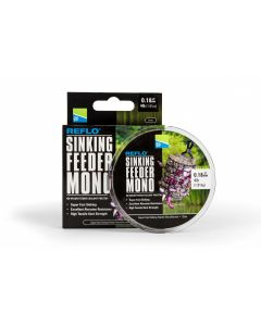 Preston Reflo Sinking Feeder Mono 0.28mm - 150m Spool - 10lb