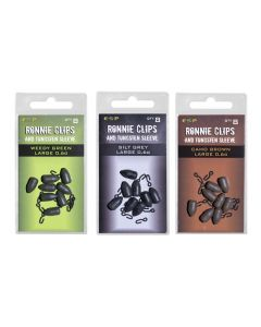 ESP Ronnie Clips and Tungsten Sleeves