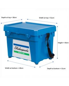 Shakespeare Fully Loaded Seatbox BLUE